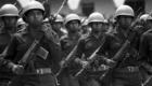 La Guardia Civil desfilando en domingo.