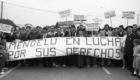 1984 Manifestación en Mendelu
