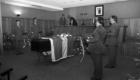 Otoño 1983 Capilla ardiente por el Capitan de Farmacia Martin Barrios