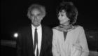 Eduardo Chillida con Juana de Aizpuru 1992