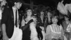 1982.Antonio Banderas, Marta Fernandez Muro y Enrrique Benavente.