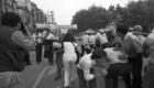 1984 Enfrentamientos Ertzaintza y manisfestantes en contra de las extradiciones al termino de La Salve