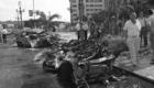 1987 Atentado de ETA con coche bomba en San Sebastián. Resultó muerto un policia nacional y cuatro agentes heridos de gravedad