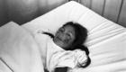 1984 Niña herida en ataque en Pampacancha